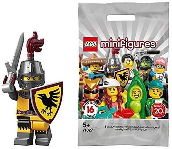 LEGO 樂高 迷你手辦 系列20 中世紀戰士|Tournament Knight 【71027-4】