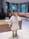 女童衛衣裙洋氣2020秋裝新款兒童韓版春秋套頭上衣寶寶秋季 【快速出貨】