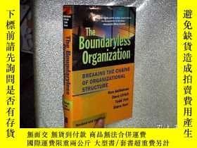 二手書博民逛書店The罕見Boundaryless Organization: