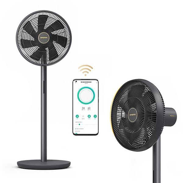 小米米家 智米直流變頻無線落地電風扇3 黑金版 立扇 插電無線兩用 新上市