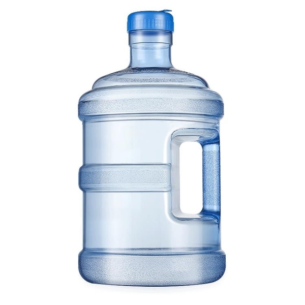 水桶 11.3L可加水帶蓋純凈水桶家用手提式PC大桶水桶裝飲水桶礦泉水桶 夢藝