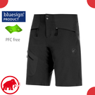 【MAMMUT 男 Sertig Shorts 透氣快乾短褲《黑》】1023-00190/運動褲/機能褲/防潑水/跑步/登山