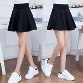 韓版半身裙短裙女太陽裙蓬蓬裙高腰傘裙