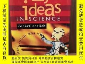 二手書博民逛書店Nine罕見Crazy Ideas in Science: A