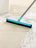 浴室刮水器地刮衛生間刮地板掃頭發神器魔術掃把家用掃地掃水拖把 城市科技DF
