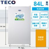 TECO 東元 84L 直立式冷凍櫃 RL84SW