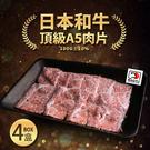 【屏聚美食】日本A5和牛燒烤片4盒組(100g/盒)免運組