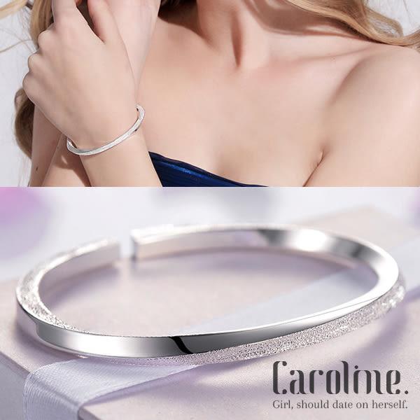 《Caroline》★925銀手環.典雅設計優雅時尚品味流行時尚手環68955