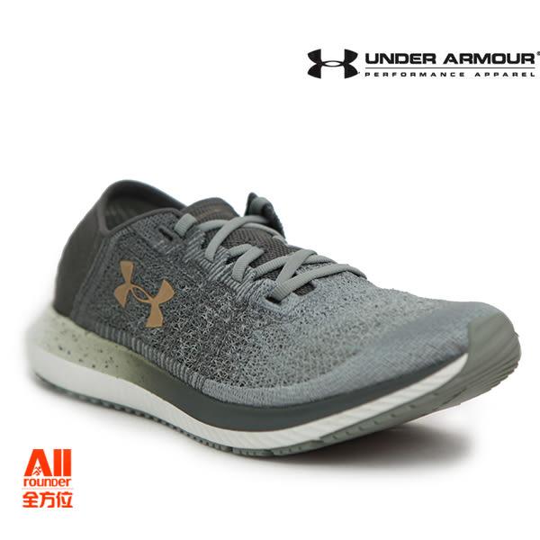 【UA Under Armour】男款慢跑鞋 Threadborne Blur-灰綠(3000008302)-現貨全方位慢跑概念館