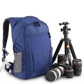 相機後背包-戶外專業後開防盜雙肩攝影包2色71a25【時尚巴黎】