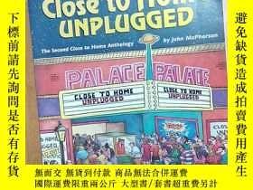 二手書博民逛書店英文原版漫畫書:Close罕見to Home Unplugged