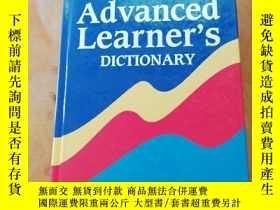 二手書博民逛書店Oxford罕見Advanced Learner s Dictionary (6. A.) of Current