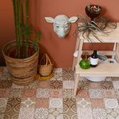 地板卷材  耐磨捲材  墨洛哥花磚紋 客廳 廚房 門市 展示廳用 SS-3322