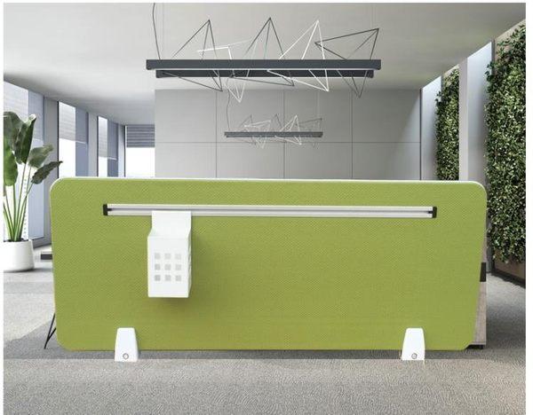 辦公桌擋板桌子隔板網格包布擋板板桌面