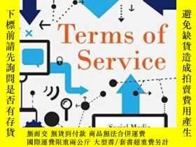 二手書博民逛書店Terms罕見Of Service: Social Media