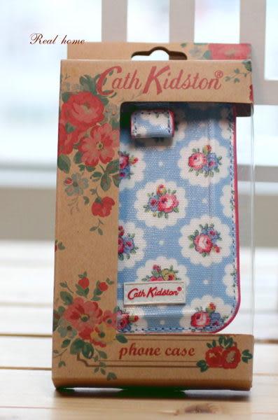 禎的家*英國Cath Kidston 全新原廠盒裝限量手機套 藍雛菊 ~ 情人好禮