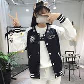薄款外套少女短款夾克韓版百搭棒球服初中高中學生 伊衫風尚