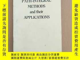 二手書博民逛書店Path罕見integral method and their application 路徑積分方法及其應用(英文