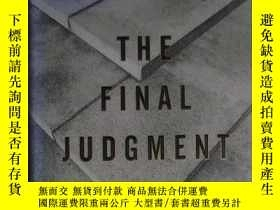 二手書博民逛書店英文原版罕見The Final Judgement by Ric