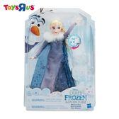 玩具反斗城 【Hasbro 孩之寶】冰雪奇緣雪寶的佳節冒險 歡唱艾莎