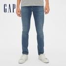 Gap男裝 柔軟緊身彈力牛仔長褲 488861-做舊牛仔藍