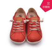 【A.MOUR 經典手工鞋】舒適休閒鞋 - 紅 / 休閒鞋 / 進口小牛皮 / 舒適鞋 / DH-7863