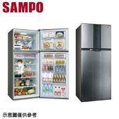 【SAMPO 聲寶】535公升變頻雙門冰箱SR-A53D(K3)