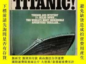 二手書博民逛書店打撈泰坦尼克罕見Raise the Titanic by Clive Cussler(泰坦尼克題材小說)英文原版書