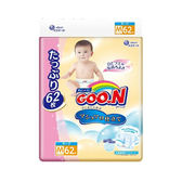 日本境內GOO.N 大王-天使棉花糖增量版黏貼型紙尿褲M186片(62片x3包/箱購)-廠商直送 大樹