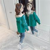女童秋裝外套 2019新款兒童時髦童裝中大童韓版中長款風衣洋氣 YN1189『易購3c館』