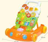 寶寶學步車嬰兒手推助步車玩具兒童多功能調速防側翻6-18個月1歲  百搭潮品