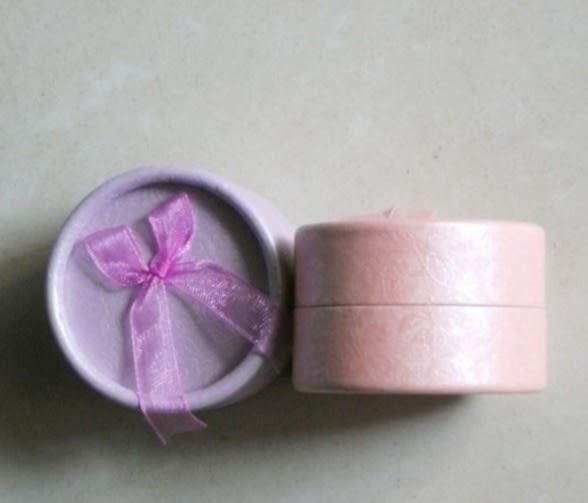 飾品 包裝盒 耳釘 戒指 圓形 蝴蝶結 印花 飾品 包裝盒