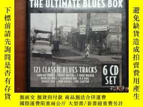 二手書博民逛書店THE罕見ULTIMATE BLUES BOX 6CDSET套裝