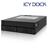 [富廉網] ICY DOCK MB994IPO-3SB 2x2.5吋 SATA/SAS HDD/SSD+薄型光碟機空間模組