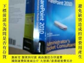 二手書博民逛書店Microsoft罕見SharePoint 2010 Admin