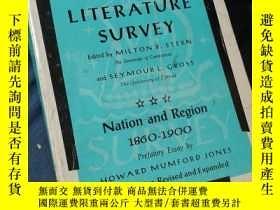 二手書博民逛書店American罕見Literature Survey 美國文學