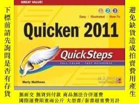二手書博民逛書店Quicken罕見2011 QuickstepsY255562
