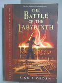 【書寶二手書T4/原文小說_NOM】The Battle of the Labyrinth_Rick Riordan