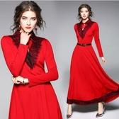 【南紡購物中心】《D Fina 時尚女裝》獨特典雅 長版大擺結婚晚禮服