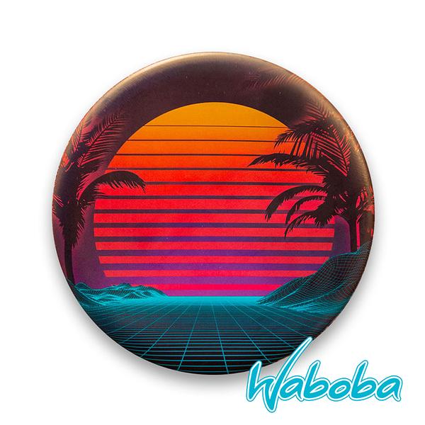 【Waboba】軟式飛盤/藝術家 系列2『日落』302C01 戶外 出遊 沙灘 海岸 親子 遊戲 兒童 公園 飛盤