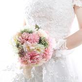 VIKI-結婚新娘手捧花韓式仿真花婚禮花束婚慶裝飾用品創意道具手捧花 nm4204 【VIKI菈菈】