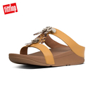 精選新降【FitFlop】FINO DRAGONFLY H-SLIDES H型設計涼鞋-女(藤黃色)