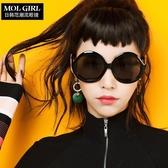 太陽鏡女韓國個性墨鏡時尚眼鏡 ☸mousika