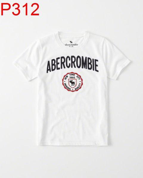 AF Abercrombie & FitchA&F A & F KIDS 男 小孩款 當季最新現貨 T-SHIRT小a P312