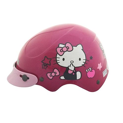 【東門城】EVO 智同 CA-116 寶貝Kitty 兒童安全帽(桃紅) 雪帽 可加購鏡片