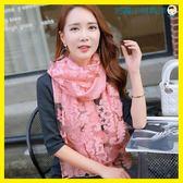女士絲巾披肩兩用長款韓版方巾洛麗的雜貨鋪