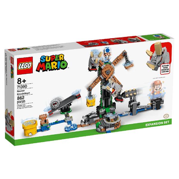 LEGO 樂高 Mario - 布伊布伊擊倒戰Reznor Knockdown Expansion Set 71390