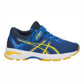 ASICS GT-1000 6 PS [C741N-4504] 中童鞋 運動 慢跑 休閒 緩衝 透氣 亞瑟士 藍黃