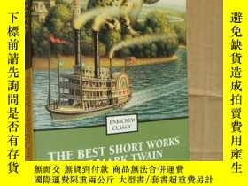 二手書博民逛書店(Enriched罕見Classic) The Best Short Works of Mark Twain (s