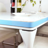 ♚MY COLOR♚藍色PE海綿平面防撞條 2米 兒童 幼兒 桌角 桌沿 多用途 護角條 跌倒 學習【M96】
